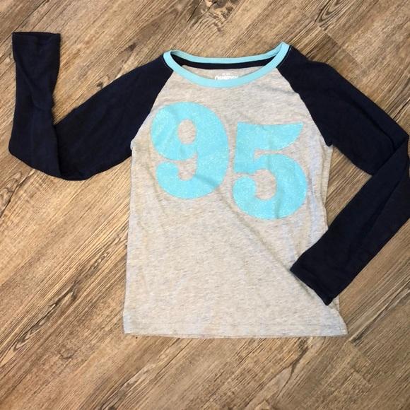Oshkosh B Gosh Girls Long Sleeve Tee - Size 7
